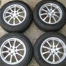 SUV車用アルミホイール付タイヤ4本セットを交換して下さい