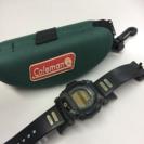G-SHOCK DW-002 ジャンク  Colemanケース