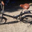 (交渉中)16インチ折りたたみ自転車