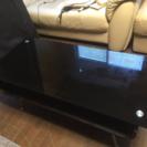 ガラステーブル  『 センターテーブル 』黒色