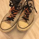 コンバースの靴!