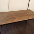 特注テーブル 120㎝×60㎝×高さ61.5㎝ オイル塗装