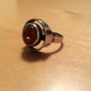 コハクの指輪