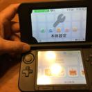 任天堂 3DS LL ブルーブラック ジャンク