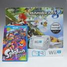 【美品】WiiU◆マリオカート8◆スプラトゥーン◆任天堂◆