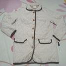 ★美品!!ゆったりM~L・ワッフル生地の軽くて温かいジャケットコー...