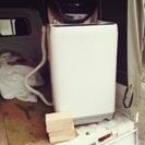 壊れた洗濯機を安く捨てたい人