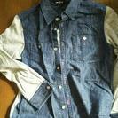子供服シャツ!COMME CA ISM 120cm