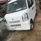 エンジン二万キロ台DA62スズキエブリィ事故車18万円