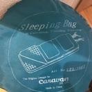 キャラバン 寝袋 スリーシーズン用 封筒型