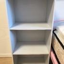 ホワイト3段ボックス