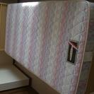 シングルベッド+スプリングマットレス★フランスベッド★