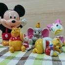 ディズニー 陶器 置物