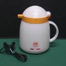 ポット 電気ポット 電気保温ポット イエロー/ホワイト 1.0L
