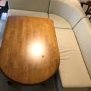 ダイニングソファーテーブルセット