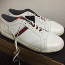 umbro アンブロ スニーカー 赤×白 27.0センチ