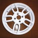 新品・展示品 ホワイトカラー アルミホイール 15X4,5J PC...