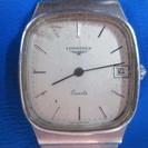 (W-90)LONGINES クォーツ ステンレススチール腕時計 ...