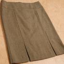 DKNY ダナキャラン ウール100% ツイードスカート
