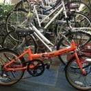 1台限り!処分価格!パナソニックアルミ折りたたみ自転車 ビーンズハ...