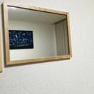 壁付け鏡【下北沢まで引き取りに来てくれる方限定】