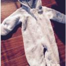 クマ赤ちゃんの きぐるみ 80
