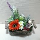 可愛いお花達のアレンジメント 花物語F