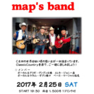 map's band LIVE(カントリー)