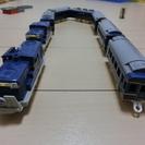 プラレール 【希少】いっぱいつなごうブルートレイン7両編成+おまけ1両