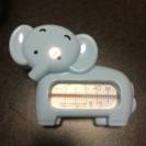ゾウさんの湯温計