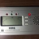 (受付中)KORG GA-30 ギター/ベース用チューナー