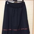 ピンクのラインが可愛いスカート