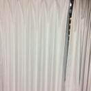 遮光カーテン、レース付き ロング