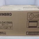 ツインバード 電子レンジ DR-D419W6 未使用品