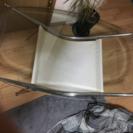 最終値下げしました 強化ガラステーブル