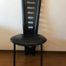 IDC大塚家具 黒の合皮椅子 1脚定価1万8900円