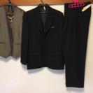 小学校 卒業式 男子 スーツ 黒 【中古】