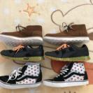 新品ブーツとスニーカー3足セット