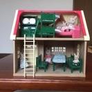 シルバニアファミリー  赤い屋根の家