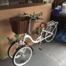 再値下げしました!三輪自転車
