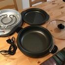 【取引完了】タイガー / グリル鍋 / お鍋や焼肉に