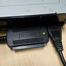 IDEのHDDやDVDなどをUSBに変換するセット(UD-303SM)