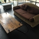 希少‼️チーク一枚板テーブル