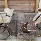 【取り引き中】アンジェリーノ 子ども2人乗せ自転車