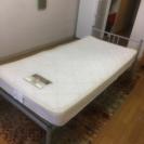 【無料】ベッド+マットレス