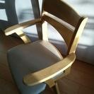 コンパクト 伸長式 ダイニングテーブル 回転椅子セット 普段二人用...