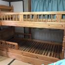 収納あり  2段ベッド