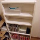 木製本棚☆白♪無料です