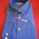 新品 DURBAN ダーバン 長袖 ワイシャツ Lサイズ 形態安定