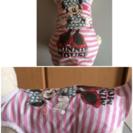 小型犬用の 洋服ピンク